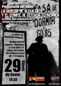 La Huelga de Alquileres y el Comité de Defensa Económica