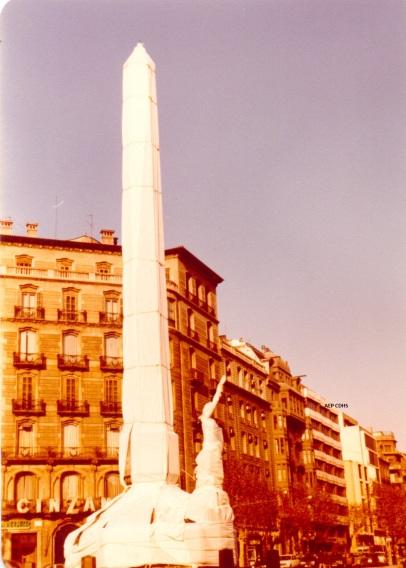 1 181 Llapis de la diagonal embolicat per la pau anys 70 finals
