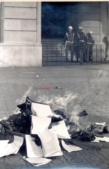 14 Gobierno militar 1986 crema de cartillas mi9litares