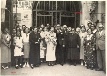 1554 Boda Revolució espanyola 1937