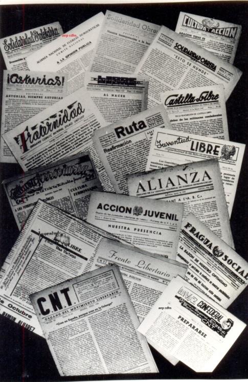 306 Recull de premsa llibertaria de l'exili a l'aep