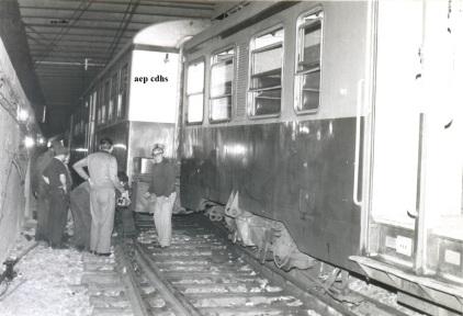 460 descarrilamiento del metro 20 -4- 1977