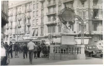 508 Plaça Catalunya Ronda Universitat  any principi dels 60