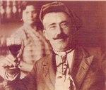 154 Pedro Araño Dalamu en el bar la Tranquilidad años30