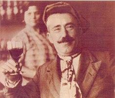 154 Pedro Araño Dalamu en el bar la Tranquilidad años 30