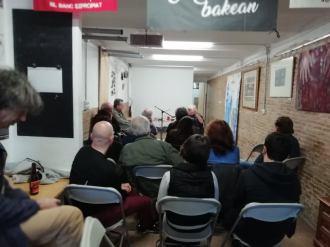 Presentació Anarquisme i municipalisme al segle XXI de Manel Aisa Ateneu llibertari Gràcia