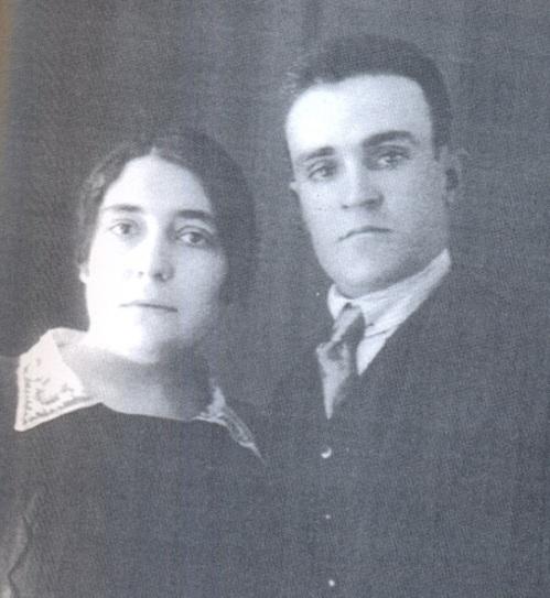Lola Iturbe i Juan Manuel Molina 1928