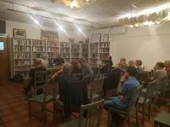 Anònims Granollers parlant de Anarquisme i Municipalisme