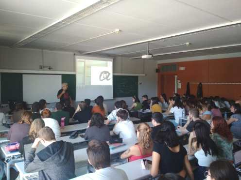 A la Universitat de Tarragona 27 de setembre 2019