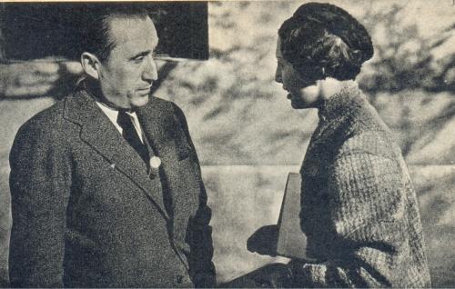 Ada Martí con el Dr. Torres 1937